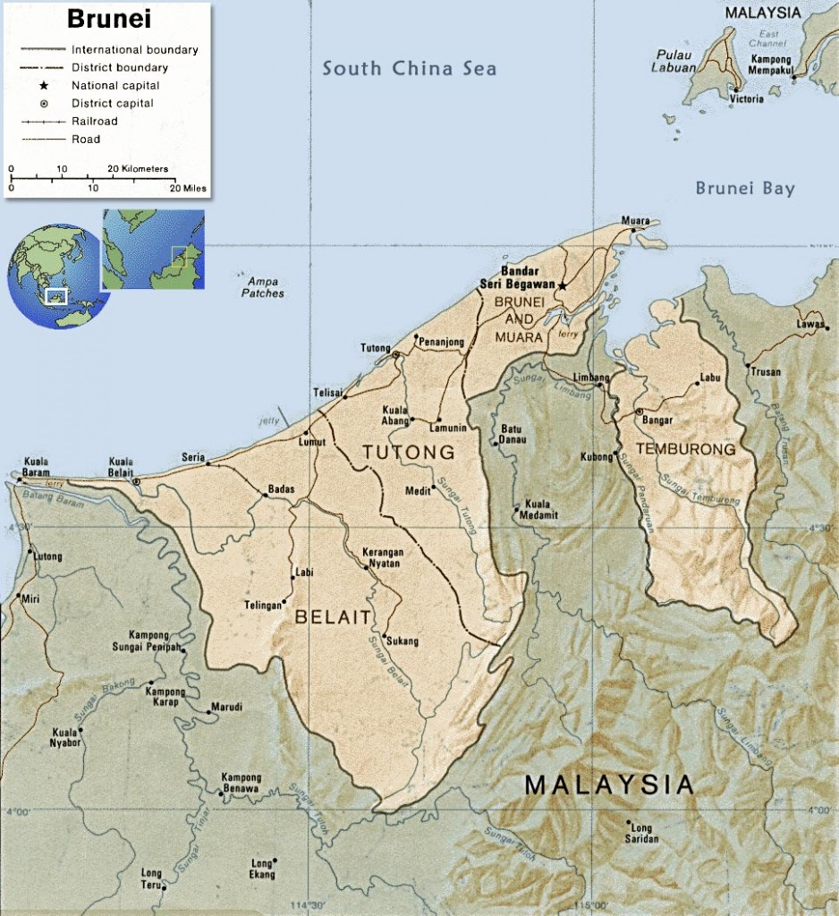brunei-map