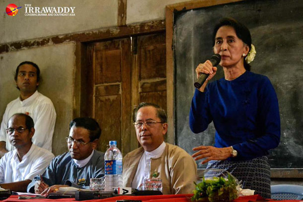 Stop Protests against Copper Mine, Suu Kyi Tells Communities