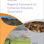 E-book : Regional framework on Extractive Industries Governance
